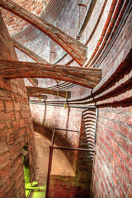 Photograph - Flying Buttresses In The Dome 1  by Newman Artography