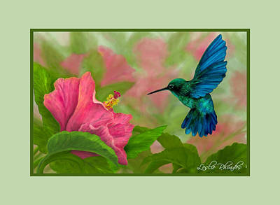 Flying Colors Print by Leslie Rhoades