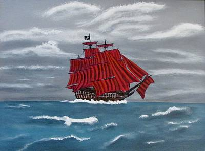 Painting - Flying Dutchman  by Jimmy Lowery
