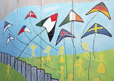 Photograph - Flying Flags by Munir Alawi