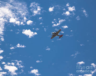 Flying Fortress Flying Art Print