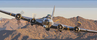 Photograph - Flying Fortress by Jay Beckman