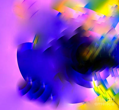Digital Art - Flying Fractal 14 by Vicki Lynn Sodora