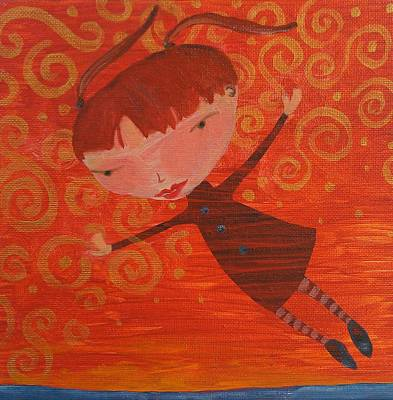 Painting - Flying Fredericka by Dawn Vagts