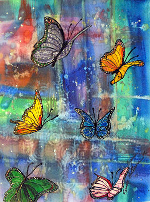Flying Free Art Print by Cynda LuClaire