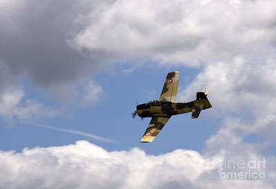 Airshow Photograph - Flying High by Angel  Tarantella