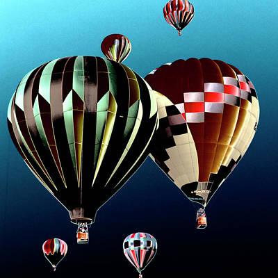 Balloon Photograph - Flying High by David Patterson