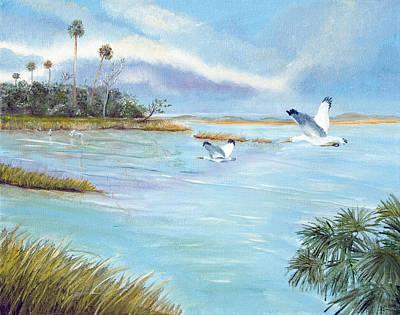 Flying High Art Print by Dorothy Riley