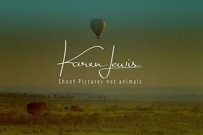 Photograph - Flying High On The Masai Mara by Karen Lewis
