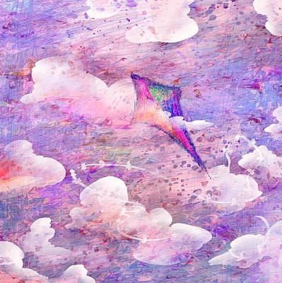 Flying High Art Print by Rachel Christine Nowicki