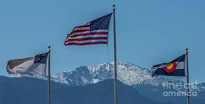 Photograph - America The Beautiful by Tony Baca
