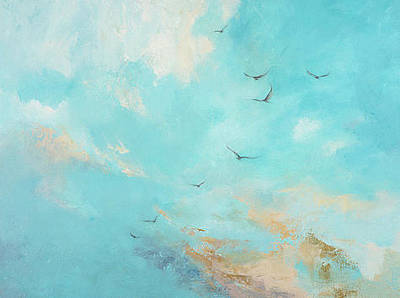 Painting - Flying High by Dina Dargo