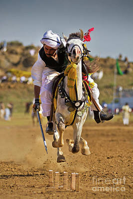 Photograph - Flying Horse by Awais Yaqub