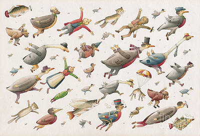 Flying Original by Kestutis Kasparavicius