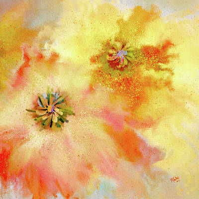 Airplane Paintings - Flying Mums by Marci Potts