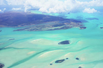 Photograph - Flying Over Bahamas by Iryna Goodall
