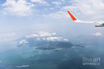 Photograph - Flying Over Hong Kong by Didier Marti