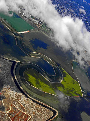 Photograph - Flying Over Sfo II by Elizabeth Hoskinson