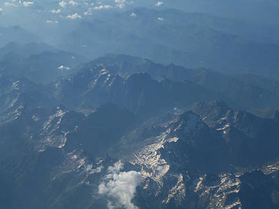 Photograph - Flying Over The Mountains by Laura Greco