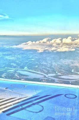 Photograph - Flying Over Tulsa by Janette Boyd