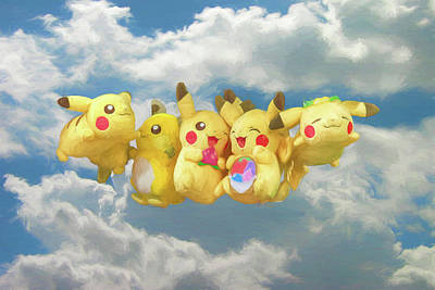 Photograph - Flying Pokemon by John Haldane