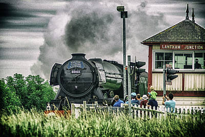 Photograph - Flying Scotsman by Cliff Norton