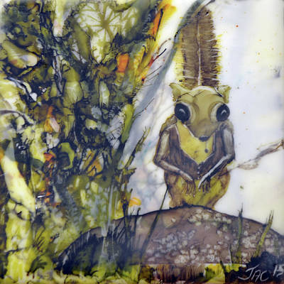 Painting - Flying Squirrel by Jennifer Creech