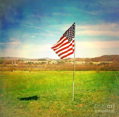 Photograph - Flying The Flag by Kerri Farley