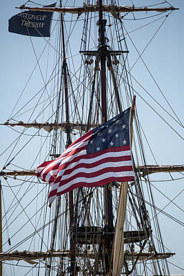 Photograph - Flying The Flags by Dale Kincaid