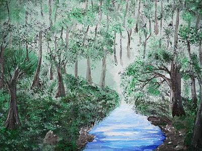 Painting - Flynn's Brook by Daniel Nadeau