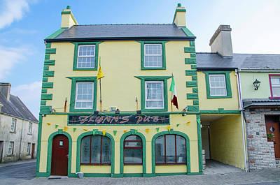 Photograph - Flynns Pub - The Miners Bar - Aclare County Sligo Ireland by Bill Cannon