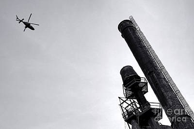 Photograph - Flyover by Olivier Le Queinec