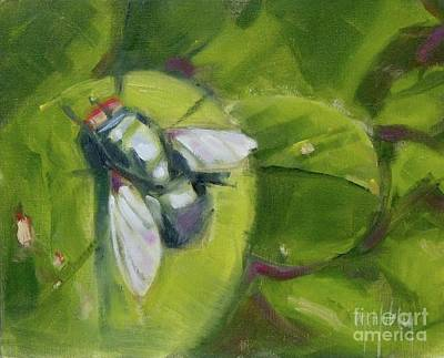 Painting - Fly's World by Mary Hubley
