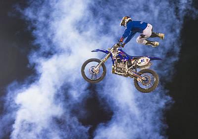 Fmx Motocross Art Print by Kobby Dagan