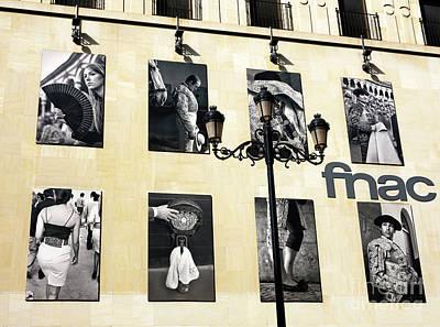 Photograph - Fnac Sevilla by John Rizzuto