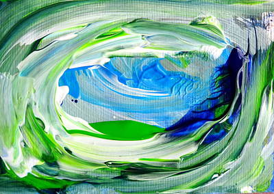 Painting - Foam 2 by Fred Wilson