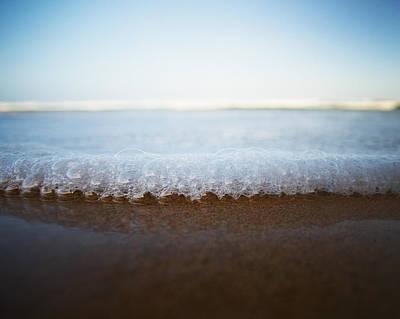 Beach Photograph - Foam by Daniel Costa
