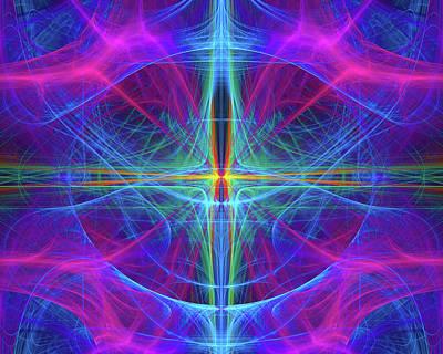 Digital Digital Art - Focal Point by FractalDzines