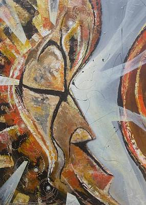 Wall Art - Painting - Focus And Determination Vol2 by Hasaan Kirkland