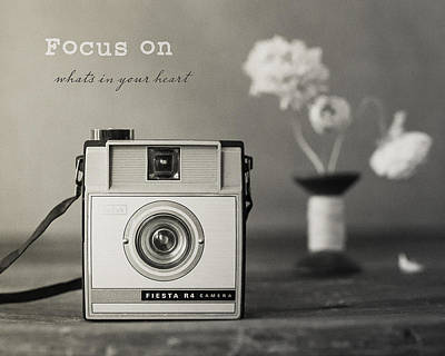Photograph - Focus by Kim Swanson