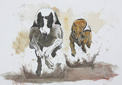 Painting - Focus by Rachel Hames