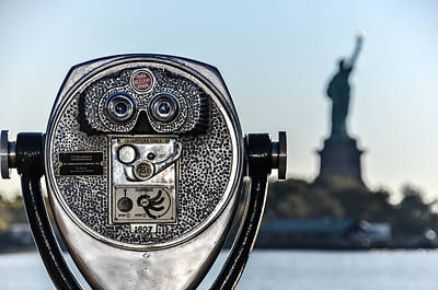 Photograph - Focus Statue Of Liberty by Art Atkins
