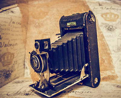 Ansco Photograph - Focused On The Past by Cynthia Wolfe