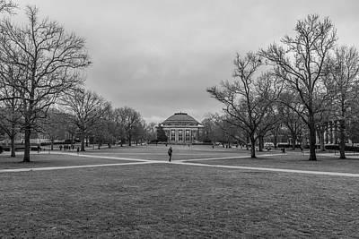 Photograph - Foellinger Auditorium And Quad University Of Illinois by John McGraw
