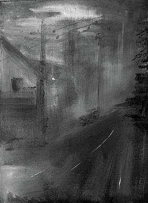 Painting - Fog 1 by Lilliana Didovic