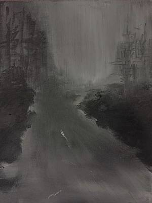Painting - Fog 2 by Lilliana Didovic