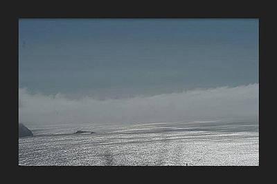 Marin County Digital Art - Fog Along The Sea by Ryan Fox