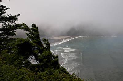 Photograph - Fog And Short Sands Beach by Robert Potts