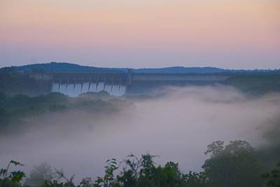 Photograph - Fog At Dusk by Toni Berry