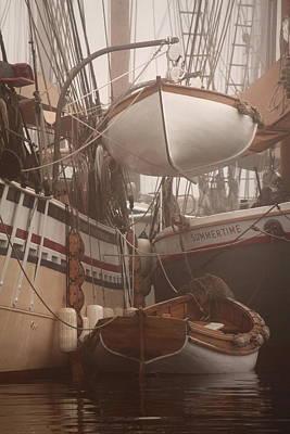 Fog At The Docks Original